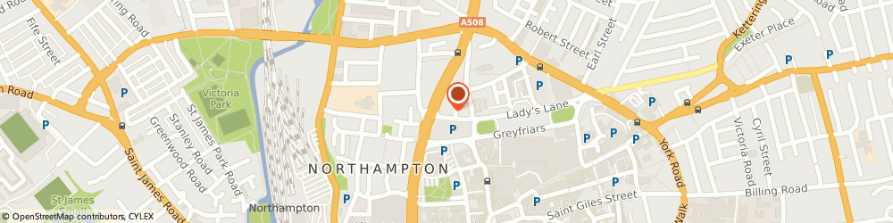 Route/map/directions to Amberville Properties Ltd, NN1 3AH Northampton, 9 Ladys Lane
