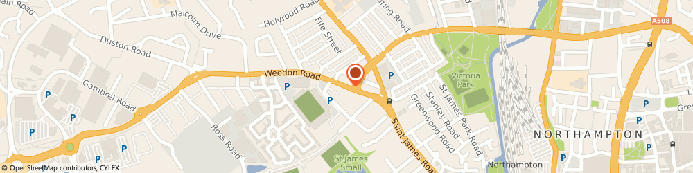 Route/map/directions to S & S Automotive Ltd, NN5 5BE Northampton, 44 Weedon Road