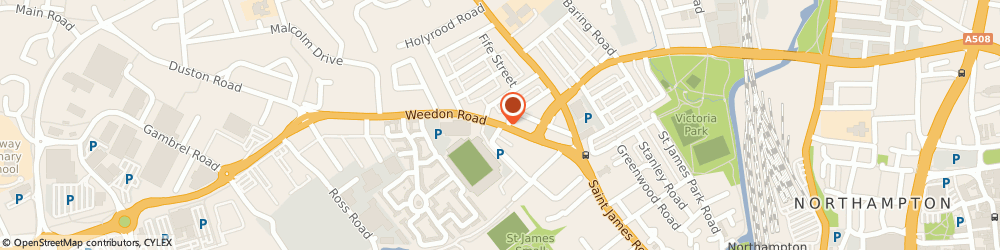 Route/map/directions to Barclays Bank PLC, NN5 5BG Northampton, 69 Weedon Road