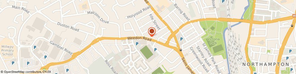 Route/map/directions to Kp News Off Licence, Best-one, NN5 5BG Northampton, 93 Weedon Road
