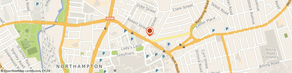 Route/map/directions to THE RICHARDSONS GROUP LIMITED, NN1 3AU Northampton, 1 Earl Street