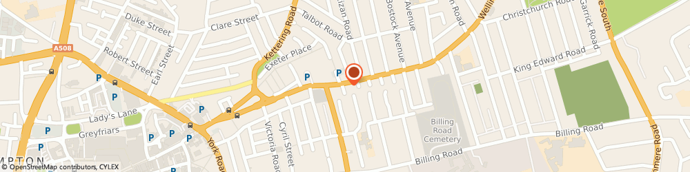Route/map/directions to Amber Properties, NN1 4DT Northampton, 152 Wellingborough Rd