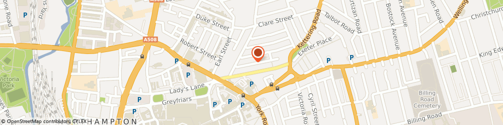 Route/map/directions to PEOPLE UNITE CLOTHING LIMITED, NN1 3LB Northampton, 31 Dunster Street