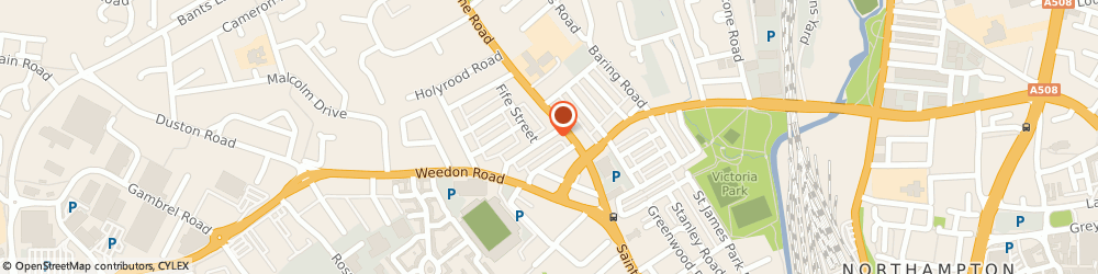 Route/map/directions to Vale Electrical, NN5 5BQ Northampton, 50 Bruce street