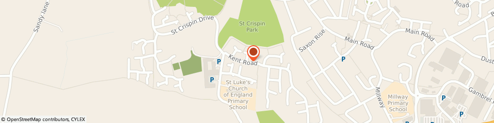 Route/map/directions to Lodge Park Limited, NN5 4DR Northampton, 20 Kent Road