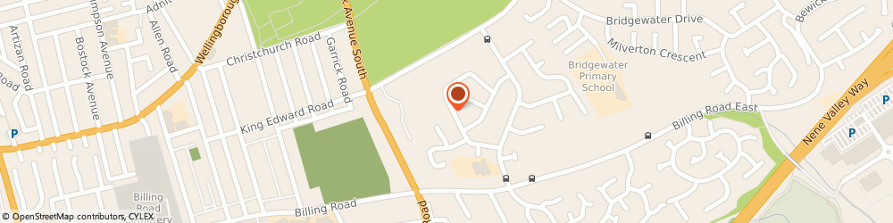 Route/map/directions to CV Plumbers & Heating, NN3 3NF Northampton, 36 Meshaw Crescent