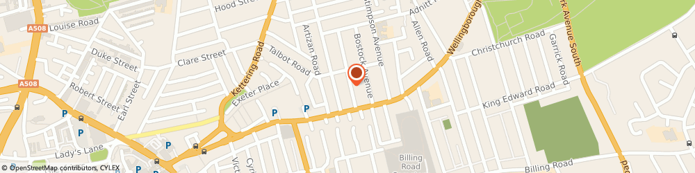 Route/map/directions to Orchard Block Management Services Ltd, NN1 4LQ Northampton, 1 Adams Ave