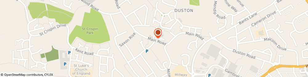 Route/map/directions to Taylors Estate Agents Duston, NN5 6JF Northampton, 38b Main Road