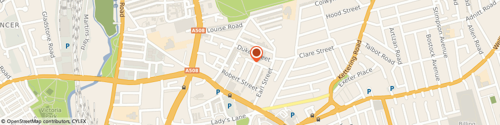 Route/map/directions to Sharp Eye Security Limited, NN1 3BQ Northampton, 48 CHARLES STREET