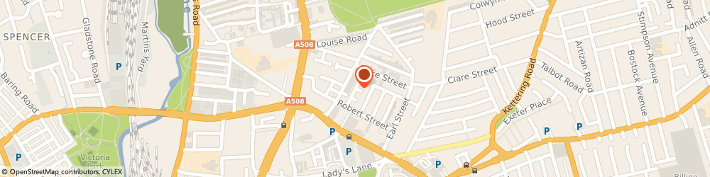 Route/map/directions to Easy Recycling Solutions, NN1 3EW Northampton, 29 William St