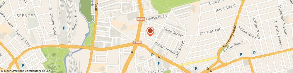 Route/map/directions to Auto Solutions Northampton, NN1 3HW Northampton, Uni 2, 18, Ash St