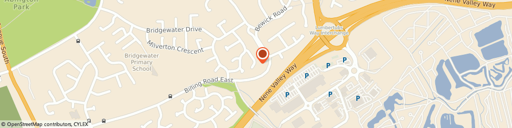 Route/map/directions to Tec Security, NN3 3BH Northampton, 20 BARNSTAPLE CL
