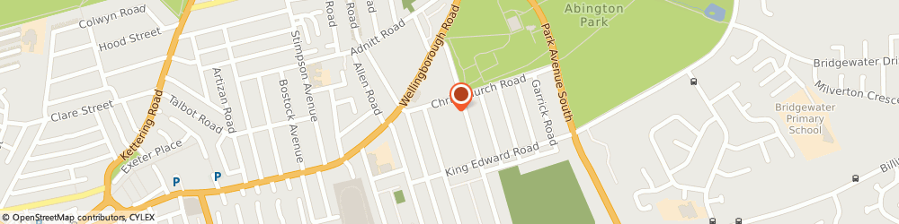 Route/map/directions to Wicked Wheels Ltd, NN1 5LP Northampton, UNIT 19G MOBBS MILLER HOUSE ARDINGTON ROAD
