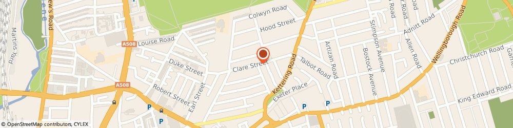 Route/map/directions to British Army - 104 Battalion REME HQ, NN1 3JQ Northampton, Clare Street