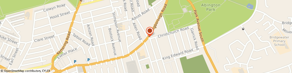 Route/map/directions to Rushmere Insurance Services, NN1 4ER Northampton, 355 Wellingborough Rd