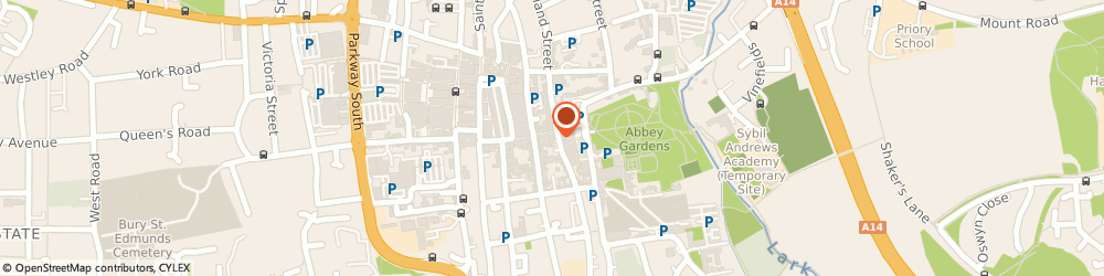 Route/map/directions to Adecco Employment Agency, IP33 1UN Bury St Edmunds, Abbeygate Street