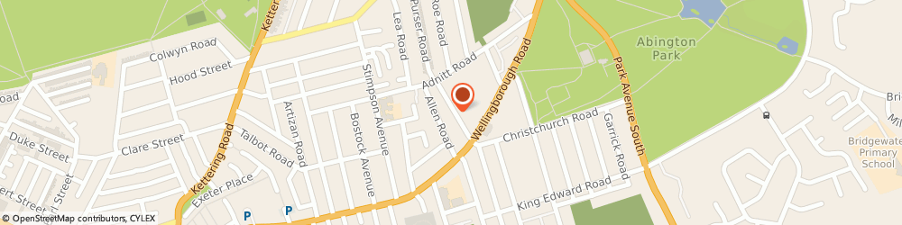Route/map/directions to Ids All Makes Car Service And Repairs, NN1 4NW Northampton, 65A-65B Manfield Road