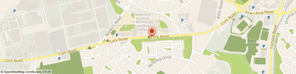 Route/map/directions to Waterford Tool Co Ltd,  Waterford, IDA INDUSTRIAL PK WESTERN EXTENSION CORK RD