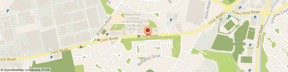 Route/map/directions to Maclean concrete construction,  Waterford, PO BOX 448 STATION MAIN