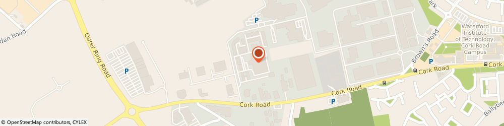 Route/map/directions to MHL Facilities Services Ltd,  Waterford, Unit 36 Waterford Business Park Cork Road