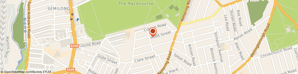 Route/map/directions to Q-Clean Ltd, NN1 3QG Northampton, 51-53 SHAKESPEARE ROAD