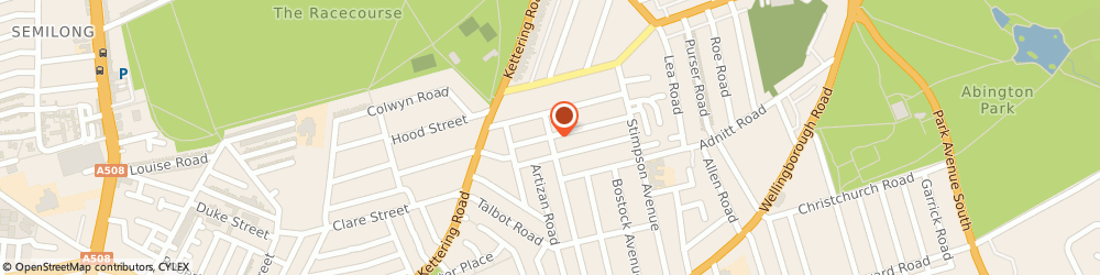 Route/map/directions to NEW BOB LTD, NN1 4JT Northampton, 9 Magee Street