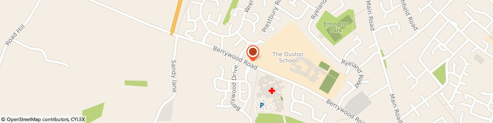 Route/map/directions to Ascott Builders Limited, NN5 6UZ Northampton, 103 BERRYWOOD ROAD