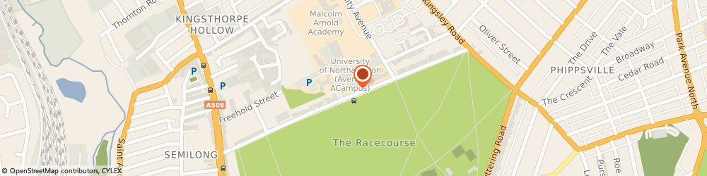 Route/map/directions to Greggs, NN2 6JD Northampton, The University of Northampton