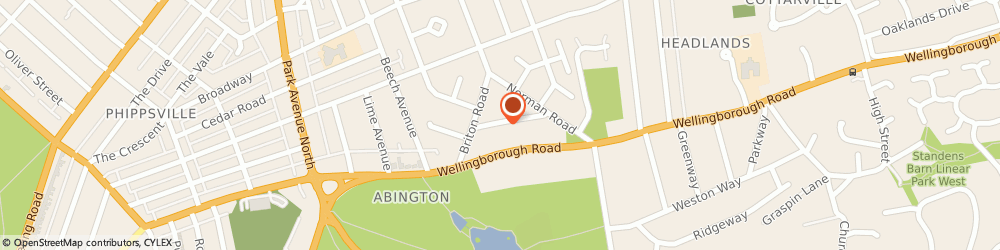 Route/map/directions to Op Transport & Recovery Services, NN3 2SQ Northampton, Saxon St