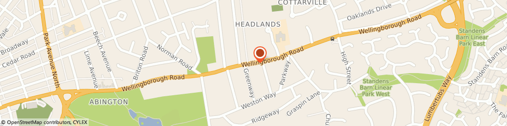 Route/map/directions to Mcghee Consulting Ltd, NN3 3HR Northampton, 623 WELLINGBOROUGH ROAD