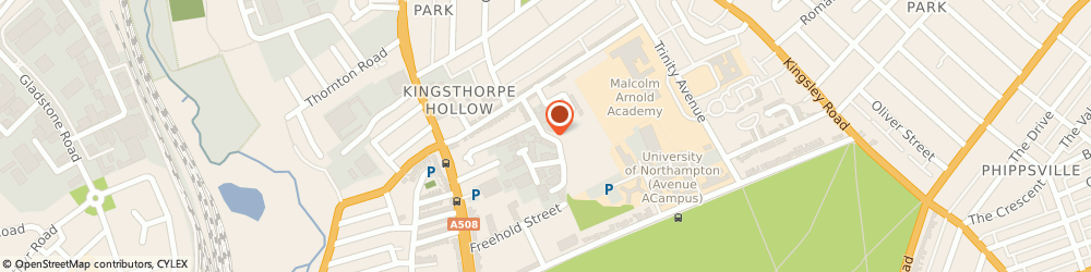 Route/map/directions to Universal Auto Repairs, NN2 6EE Northampton, 54-58 Bunting Road