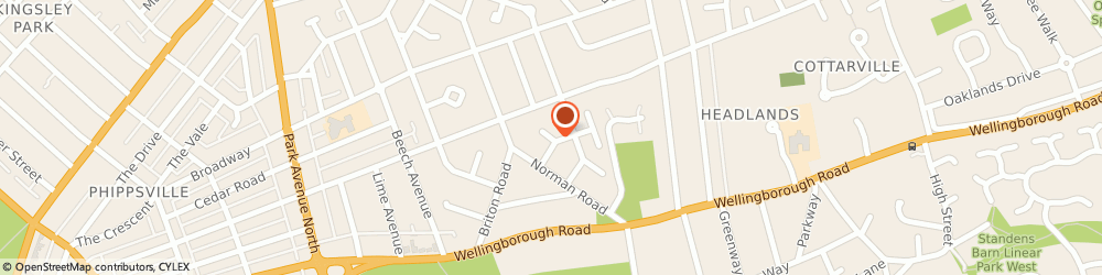 Route/map/directions to Abington Domestic Plumbing, NN3 2ST Northampton, 15 NORTHUMBRIA GARDENS