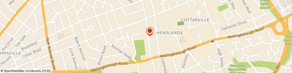 Route/map/directions to CleanPro UK, NN3 2PB Northampton, 3 The Headlands