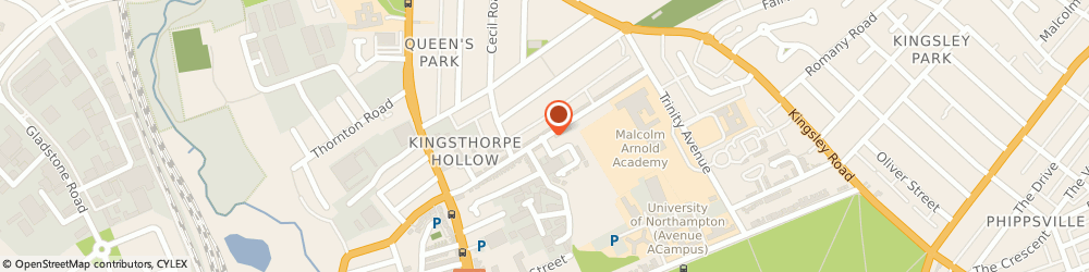Route/map/directions to Ego, NN2 6HE Northampton, COLISEUM BUILDING, BALFOUR ROAD