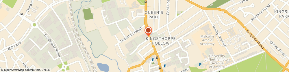 Route/map/directions to Bt-Services, NN2 6LJ Northampton, 1 Horsley Road, Kingthorpe Road