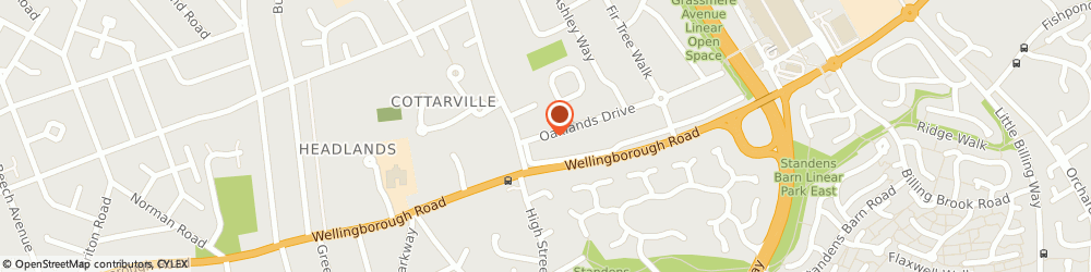 Route/map/directions to Ace Plumbing & Heating, NN3 3JN Northampton, 65, OAKLANDS DRIVE