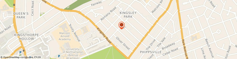 Route/map/directions to Law Security Systems, NN2 7JF Northampton, KINGSLEY HOUSE, 106 MILTON STREET