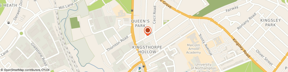 Route/map/directions to Lion Services (Northampton) Ltd, NN2 6LA Northampton, 7 Balmoral Rd