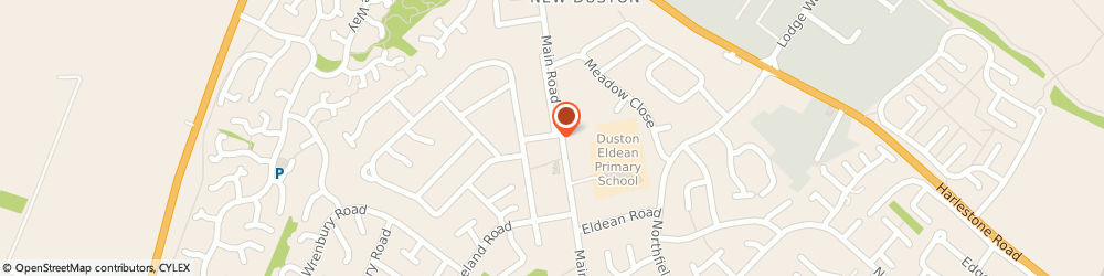 Route/map/directions to Dustan, NN5 6PS Northampton, 1 WOODLEY CHASE