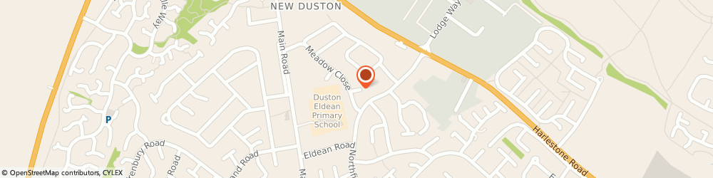 Route/map/directions to Gabs Heating & Plumbing Solutions, NN5 6RW Northampton, 9 Cottesmore Cl