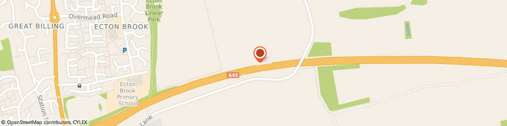Route/map/directions to Tom Hillyard, NN3 5LU Northampton, NENE VALLEY SERVICE AREA EASTBOUND NENE VALLEY WAY