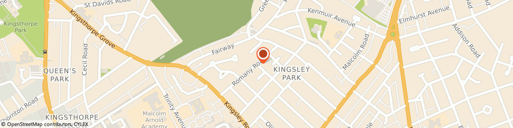 Route/map/directions to Spyglass Investigations, NN2 7DJ Northampton, 34 Romany Rd