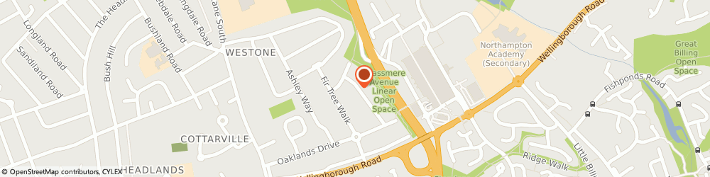 Route/map/directions to JD Plumbing & Heating, NN3 3DP Northampton, 39 Grassmere Avenue