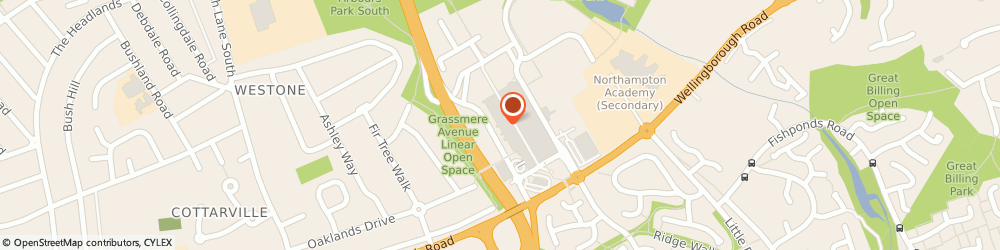 Route/map/directions to Jackson Grundy Estate Agents Northampton, NN3 8JZ Northampton, 11 Weston Favell Centre