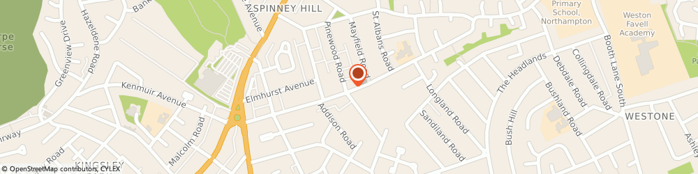Route/map/directions to Nisa Local, NN3 2RA Northampton, 65 Broadmead Ave
