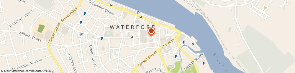 Route/map/directions to Specsavers Waterford,  Waterford, 31-32 City Square