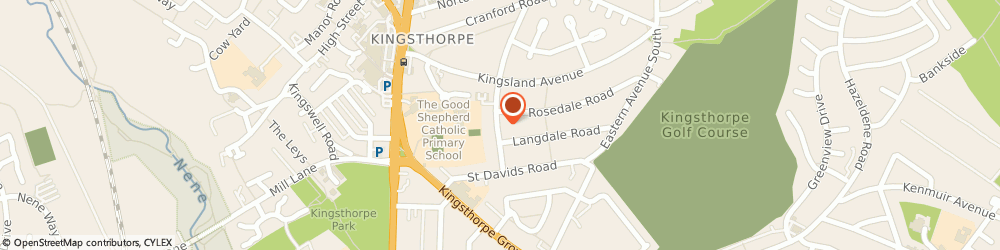 Route/map/directions to Orion Security Systems, NN2 7QG Northampton, 39 Nursery La