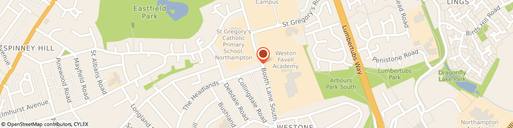 Route/map/directions to c.u.clean, NN3 3HA Northampton, 139 Booth Lane South