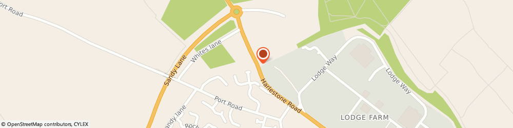 Route/map/directions to RS COMPUTER SERVICES, NN5 6DD Northampton, 265 Harlestone Road