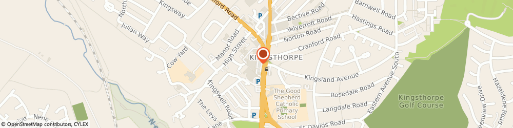 Route/map/directions to COSTA COFFEE, NN2 7BD Northampton, Harborough Road